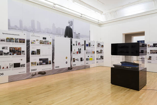 Installation View, British ICA, London, U.K.