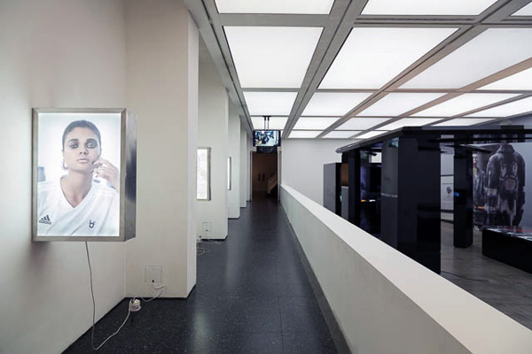 Installation view, British Institute of Contemporary Art, London, U.K.