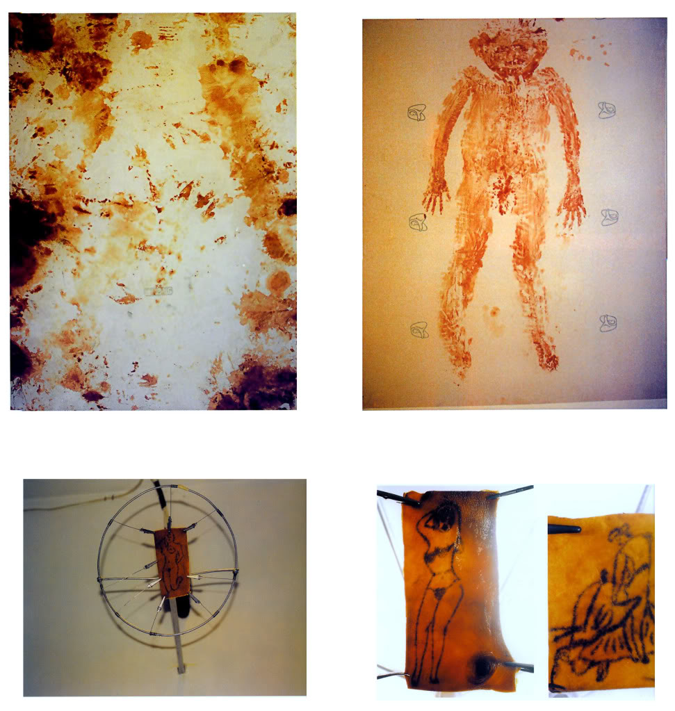Figure 3. Dermis (1996), sculptures and installation at La Panadería, by Teresa Margolles and SEMEFO. Courtesy of personal archive of artist Juan Zavaleta.
