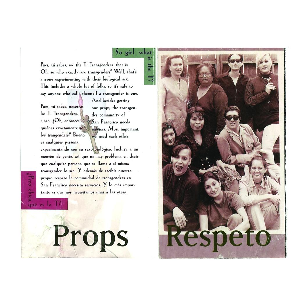 1990's, Detail I from brochure for Proyecto ContraSIDA Por Vida, Courtesy of Adela Vazquez and Juliana Delgado Lopera
